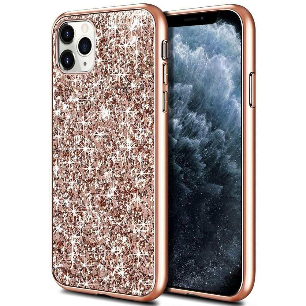 Fitsu Iphone 11 Pro Max Glitzer Hulle Rosegold Hh24