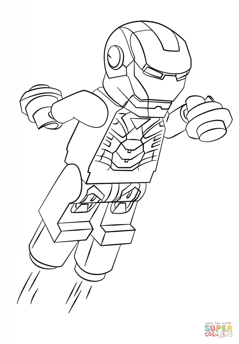 Lego Iron Man Coloring Pages To Print When Printing You Can Try Choosing Avengers Coloring Pages Superhero Coloring Pages Lego Coloring Pages