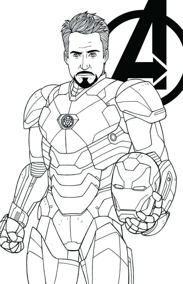 Tony Stark Nyomtathato Figurak Google Kereses Avengers Coloring Pages Superhero Coloring Pages Avengers Coloring