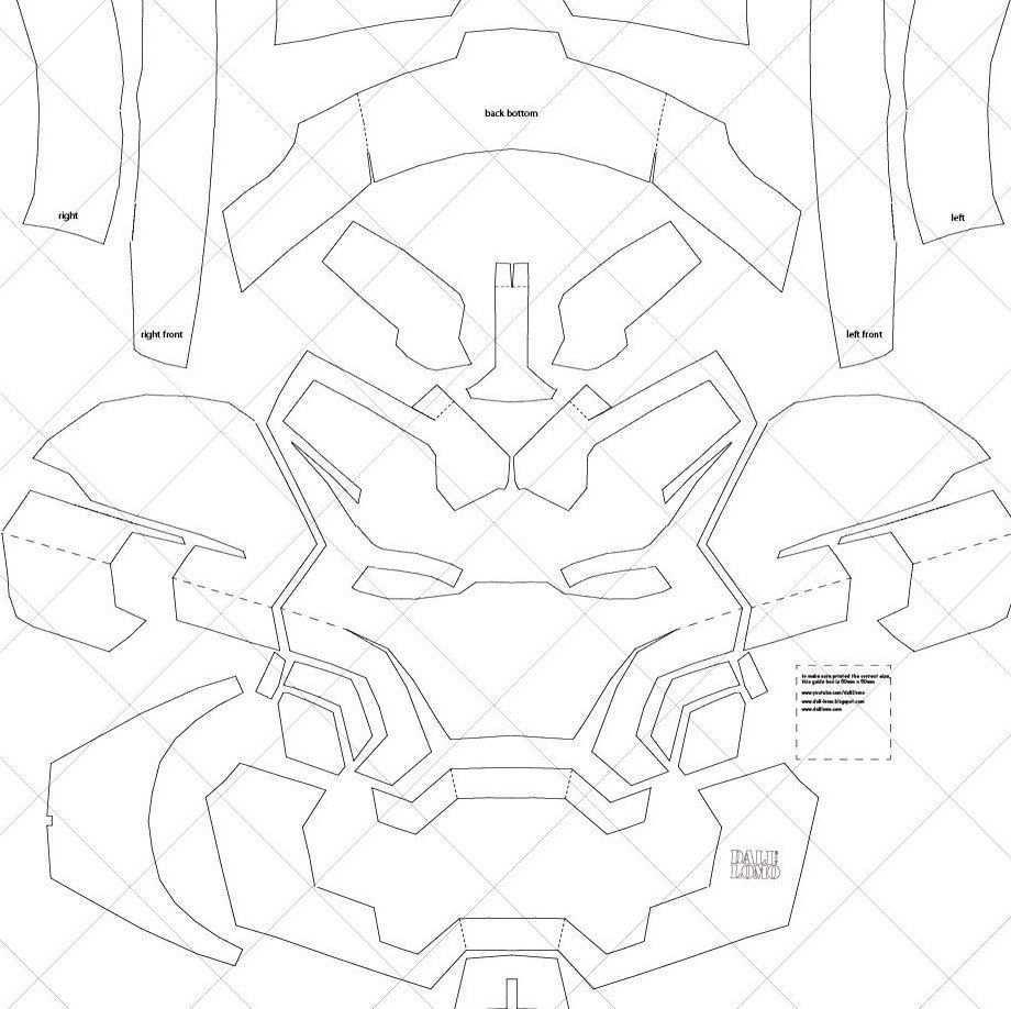Iron Man Mark 42 Helmet A4 Letter Size Pdf Template Ready Etsy Iron Man Helmet Iron Man Pdf Templates