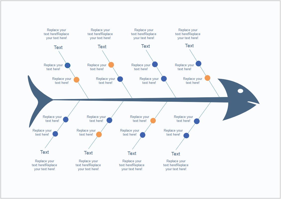 Ursache Wirkung Diagramm Diagrama De Ishikawa Ishikawa Plantilla Powerpoint