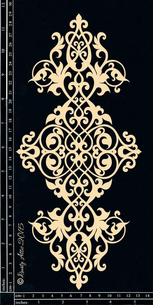 Bild 1 Bild Ornamente Vorlagen Schablonenmuster Marokkanische Schablonen
