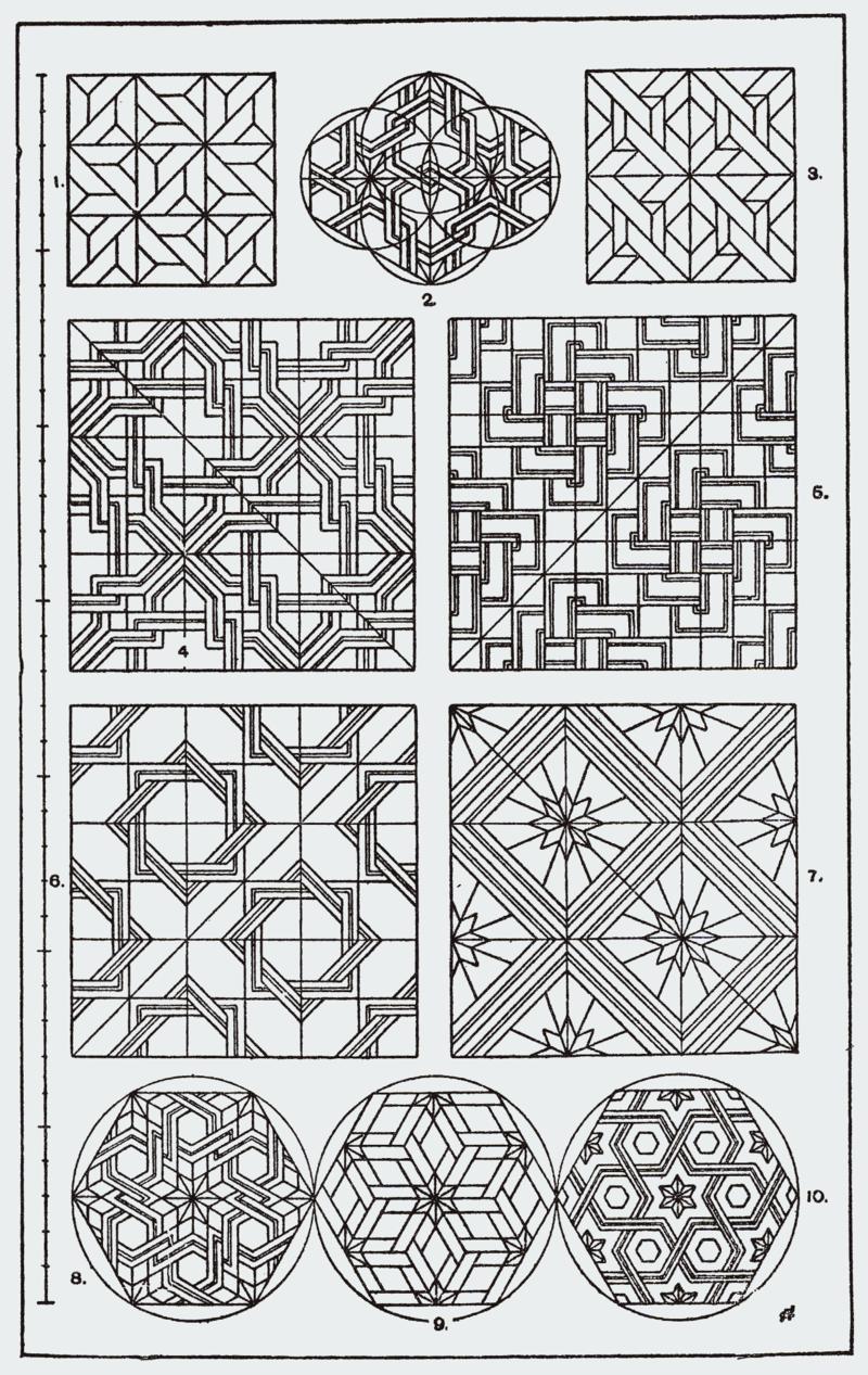 Category Meyer S Ornament Zentangle Patterns Islamic Patterns Geometric Art