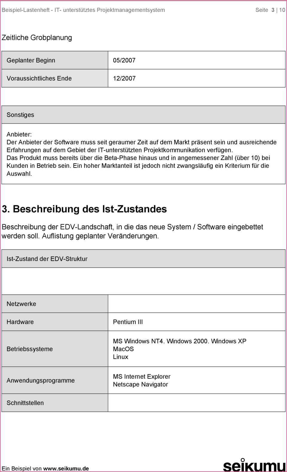 Nett Lastenheft Beispiel Maschinenbau Projekt Planung Maschinenbau Prinzipien