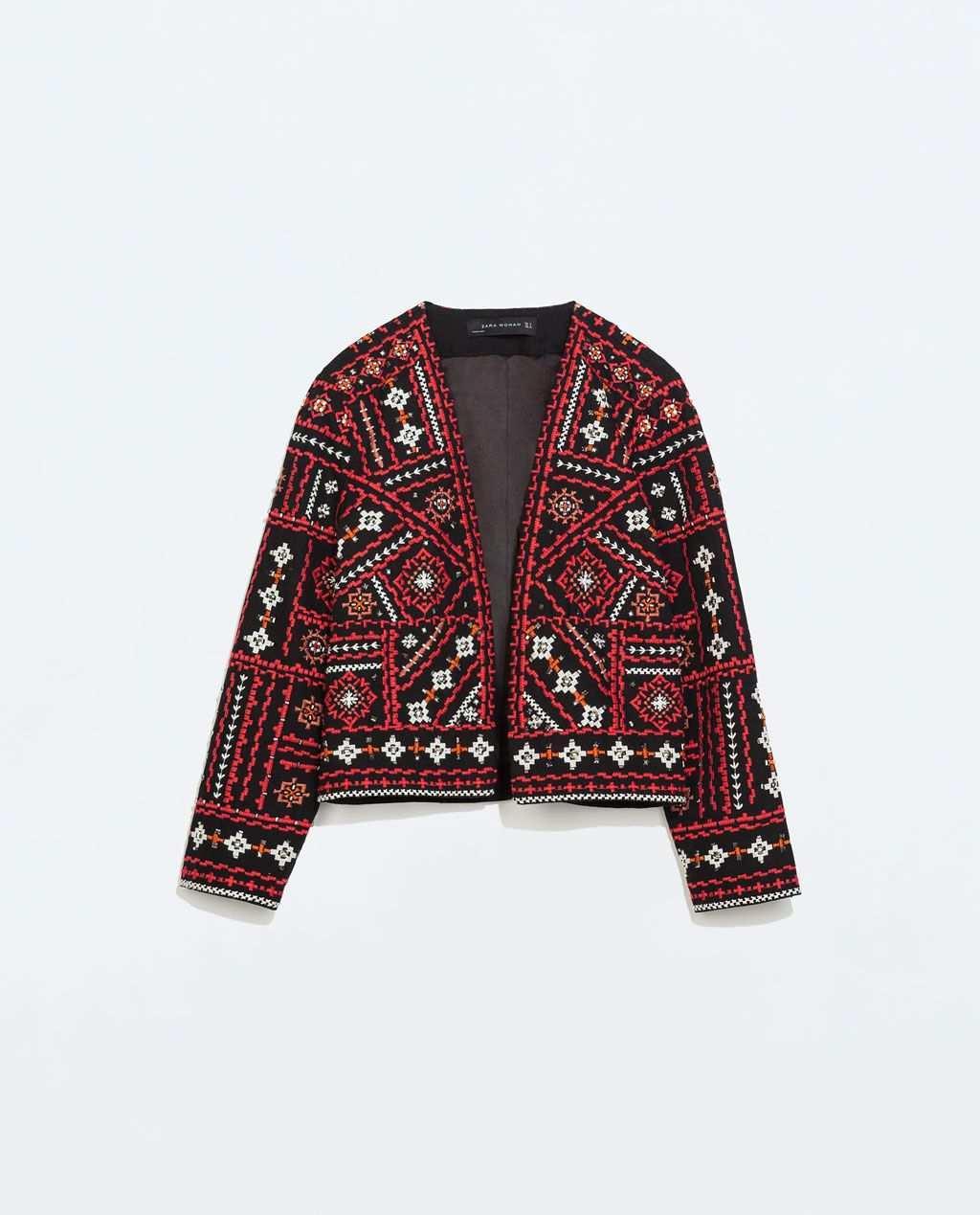Zhaket S Vyshivkoj V Etnicheskom Stile Prosmotret Vse Zhakety Zhenshiny Modestil Gestickte Jacke Jacken