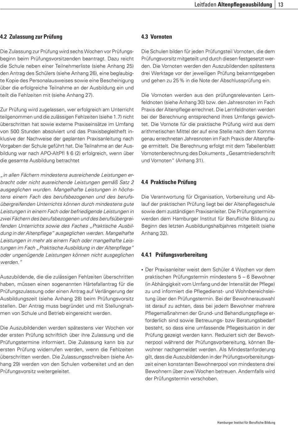 Leitfaden Fur Die Altenpflegeausbildung In Hamburg Pdf Free Download