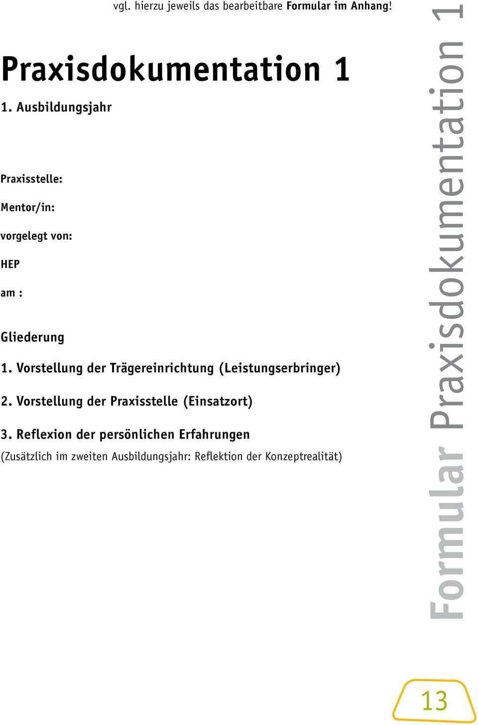 Fur Die Praktische Ausbildung Merkblatter Und Formulare Pdf Kostenfreier Download
