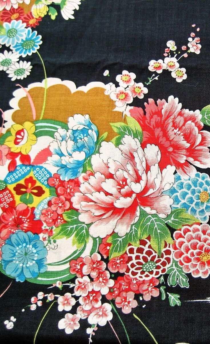 Strauss Schwarz Stoff Aus Japan Muster Stoffe Stoffmuster Japandesign Pattern Japanische Stoffe Stoffmuster Japanische Muster