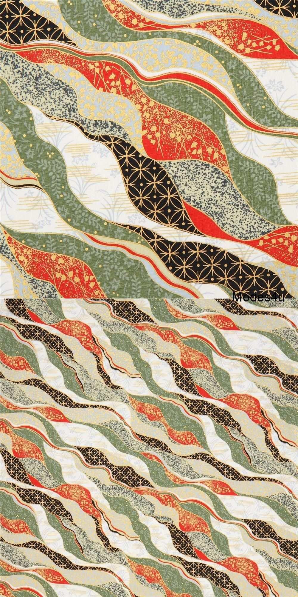 Pin Von Modes4u Auf Japanische Stoffe De Wellenmuster Japanische Stoffe Stoffe De