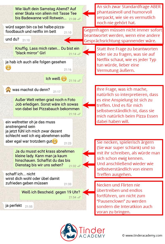 Richtig Flirten Im Chat Mit Frauen 55 Screenshots Beispiele Tipps