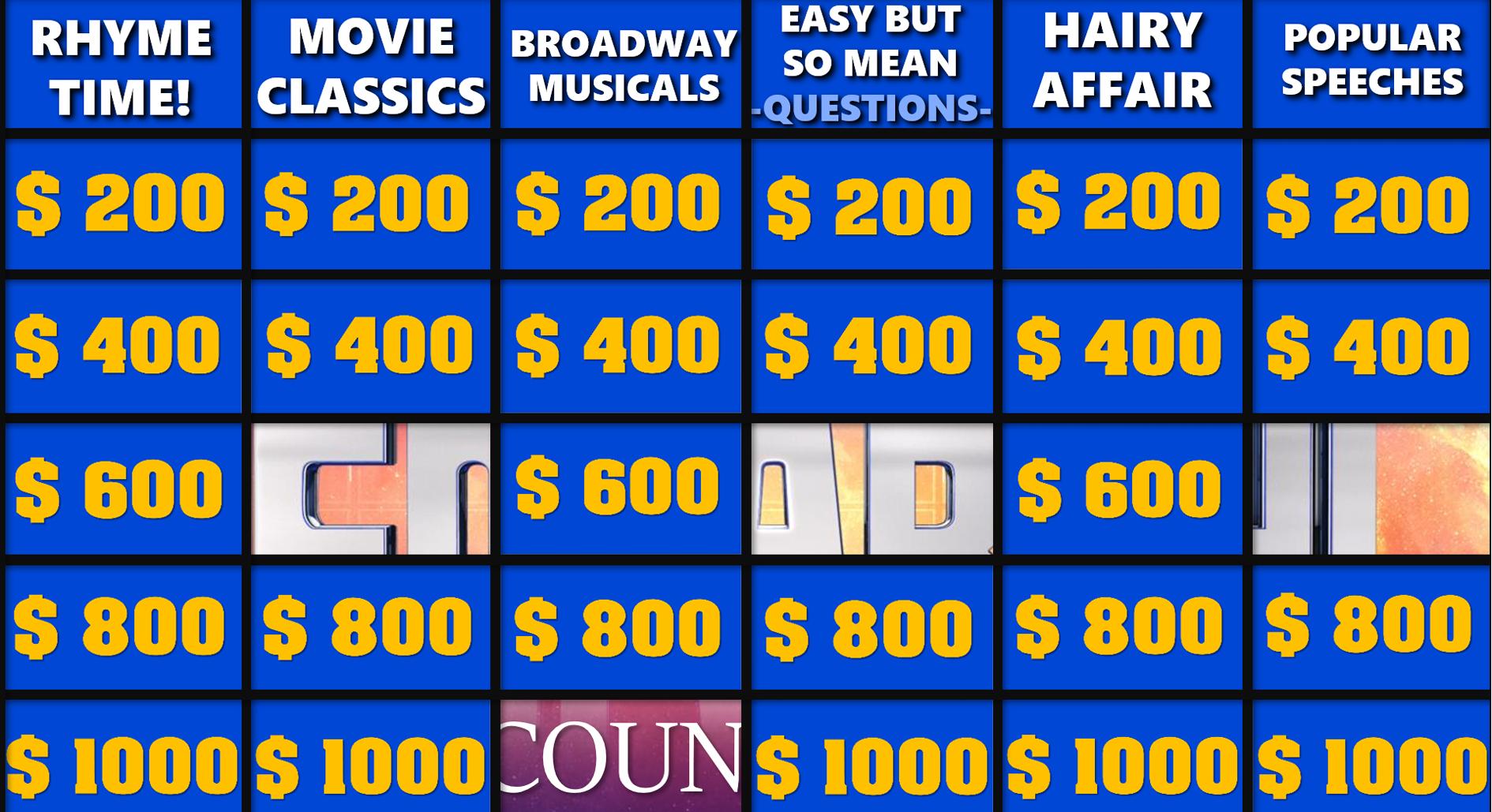 Jeopardy Powerpoint Vorlage 2020 Slidelizard