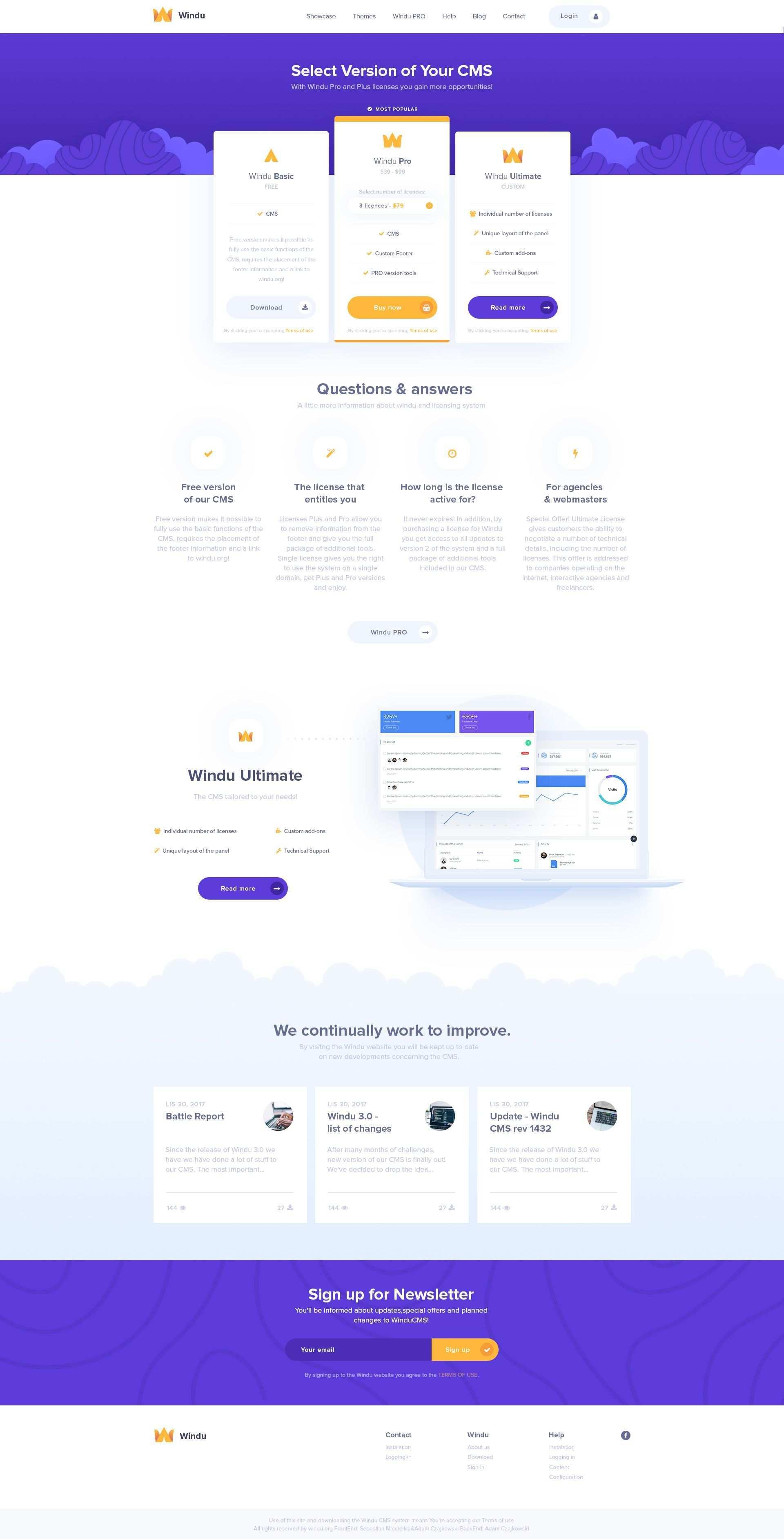 Windu Plany3 Web Design Websites Minimal Website Design Web Template Design