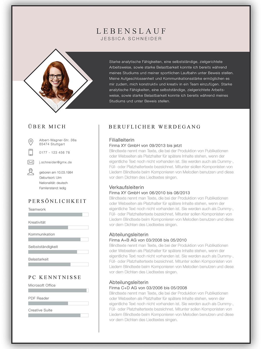 Bewerbungsvorlage Bewerbung Vorlage Bewerbungsschreiben Kreativ Bewerbung Bewerbungsvorlagen Vor Bewerbung Schreiben Lebenslauf Layout Kreative Bewerbung