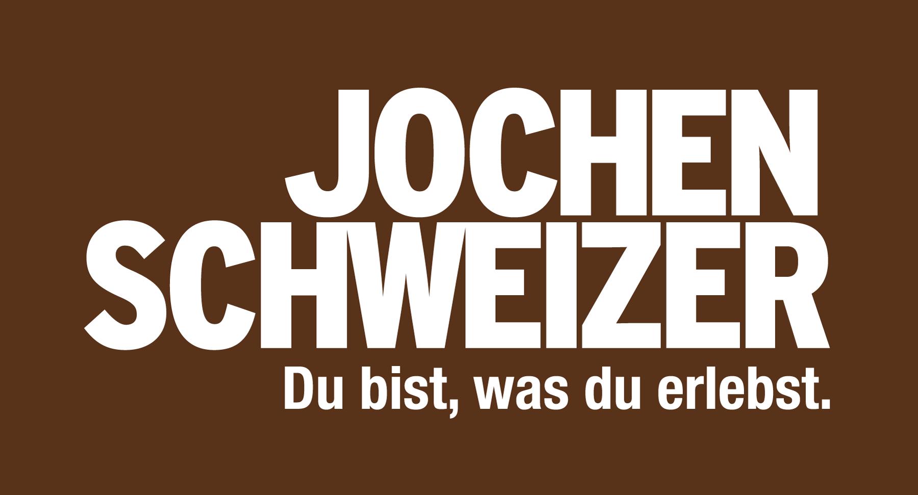 Jochen Schweizer Presse Jochen Schweizer Logo Braun