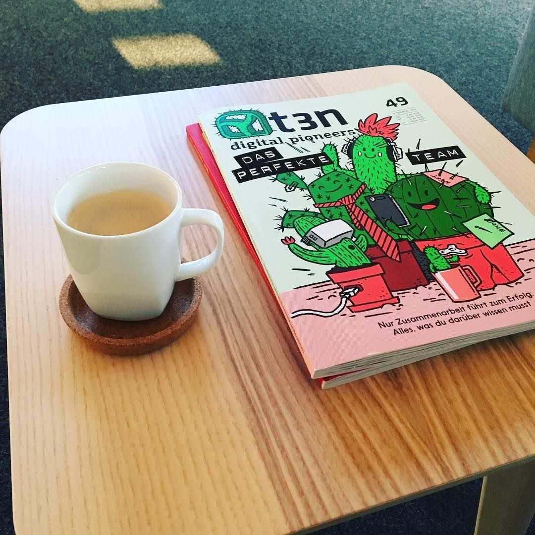 Ein Guter Start In Den Tag T3n Kaffee Workday In 2020 Instagram Ecommerce Kaffee
