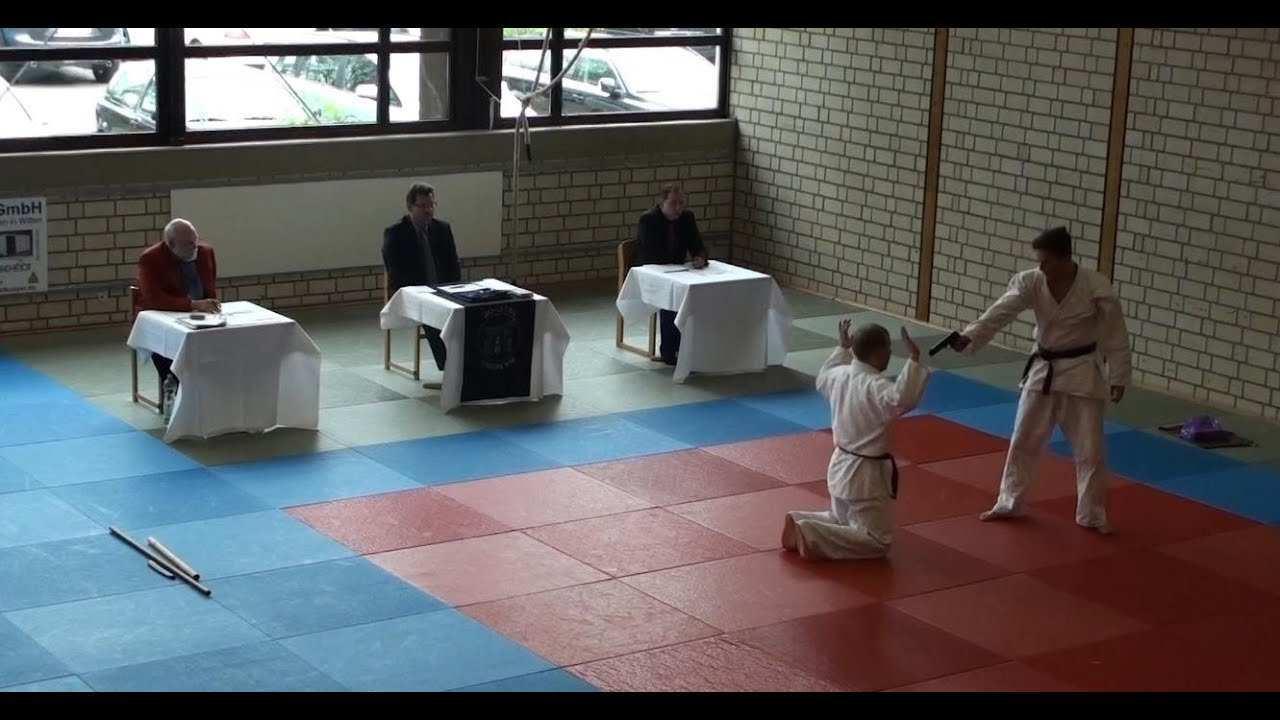 Prufungsprogramm 2 Dan Jiu Jitsu Youtube