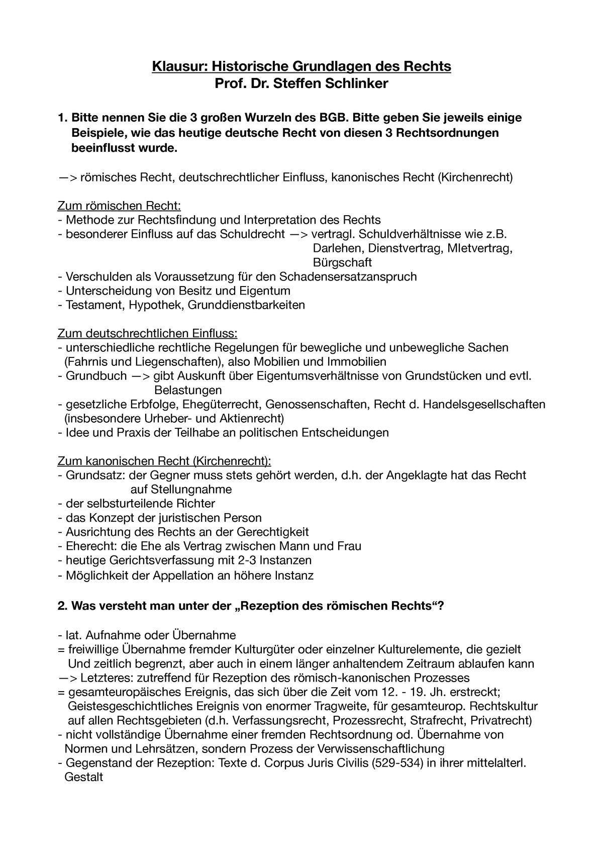 Klausur 29 Januar 2018 Fragen Und Antworten Studocu