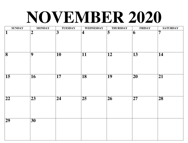 Drucken November 2020 Kalender Teknik Menjahit Bingkai Foto Teknik
