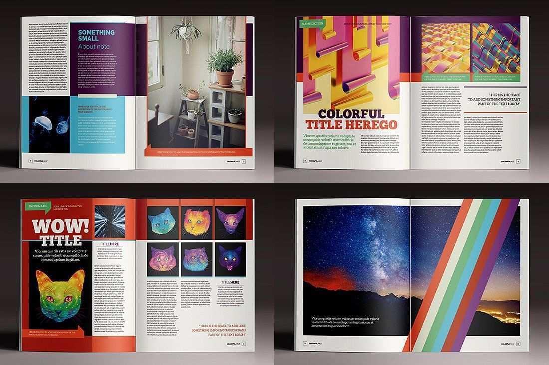 15 Indesign Magazines Brochures Magazine Template Indesign Templates Indesign Magazine Templates
