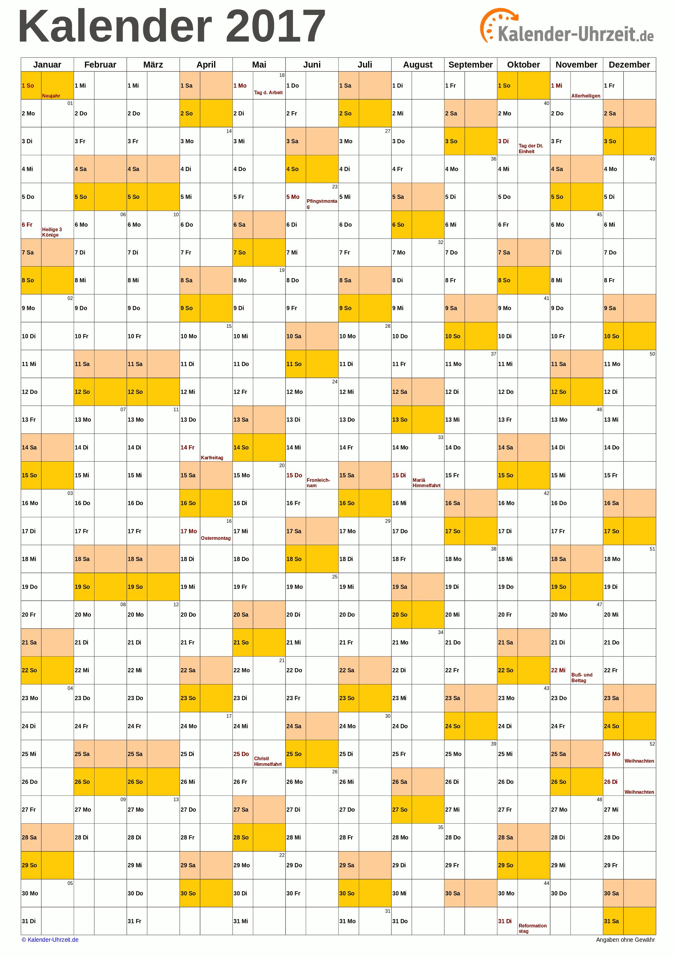 Kalender 2017 A4 Hochformat Vorlage 1 Kaluhr Weitere Kalender Vorlagen 2017 Http Www Kalender Uhrzeit De Kalend Kalender 2017 Kalender Vorlagen Kalender