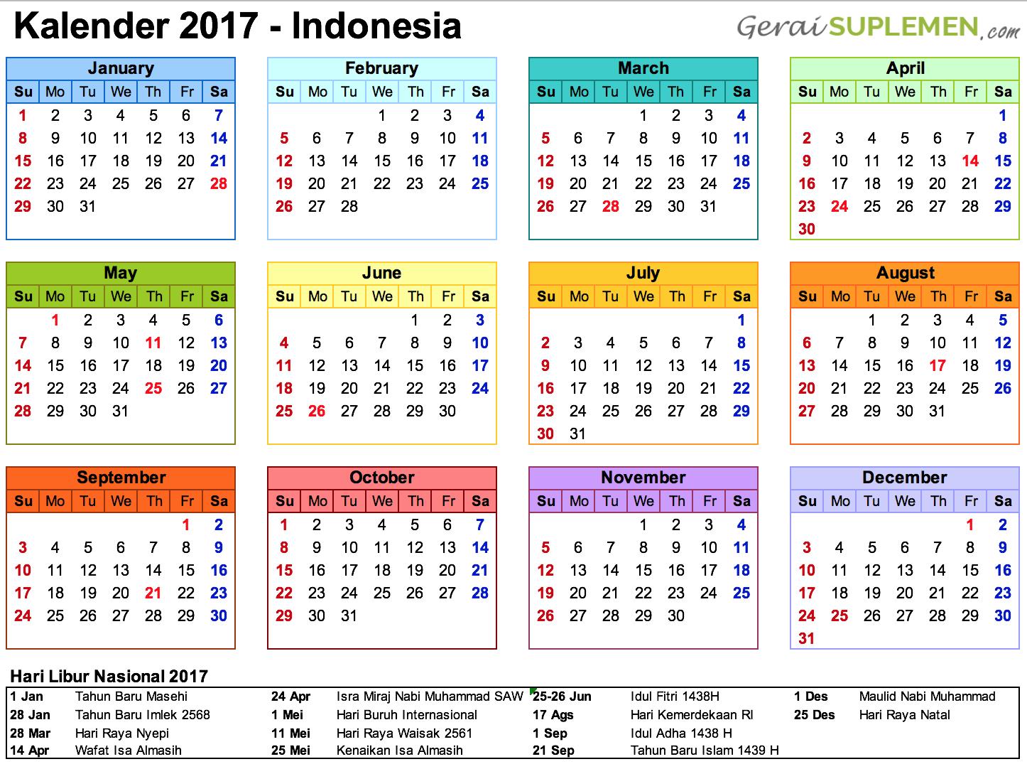 Kalender 2017 Indonesia Hari Libur Nasional Png 1446 1082 Kalender Australia Liburan