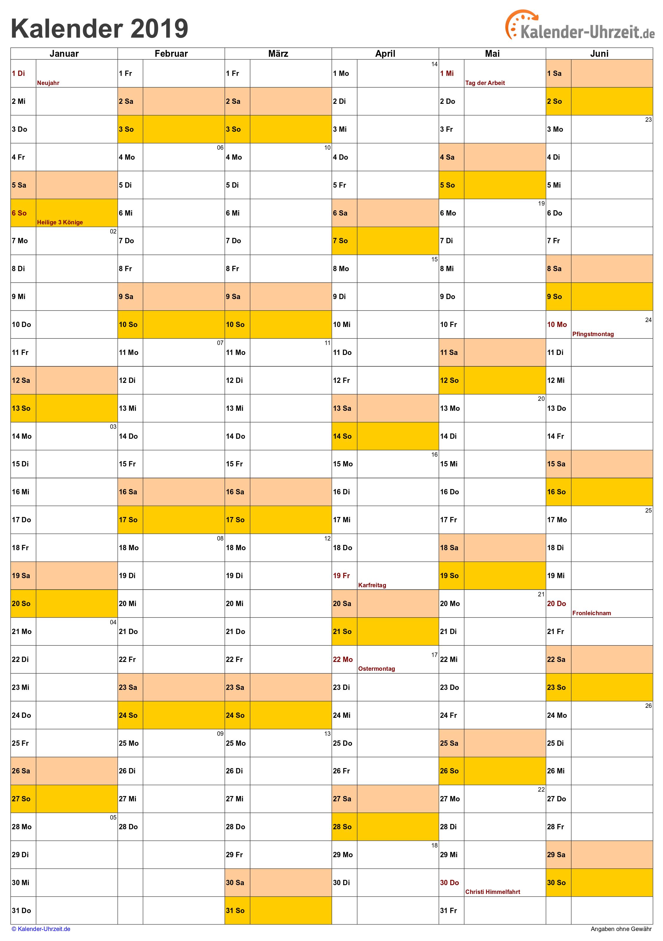 Kalender 2019 Zum Ausdrucken Gratis Vorlagen Zum Download Kalender 2017 Ausdrucken 2019 Kalender