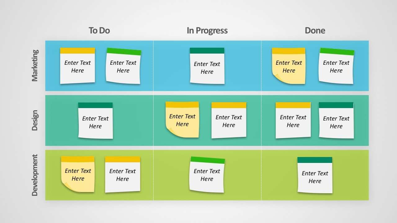 Free Kanban Board Templates For Powerpoint