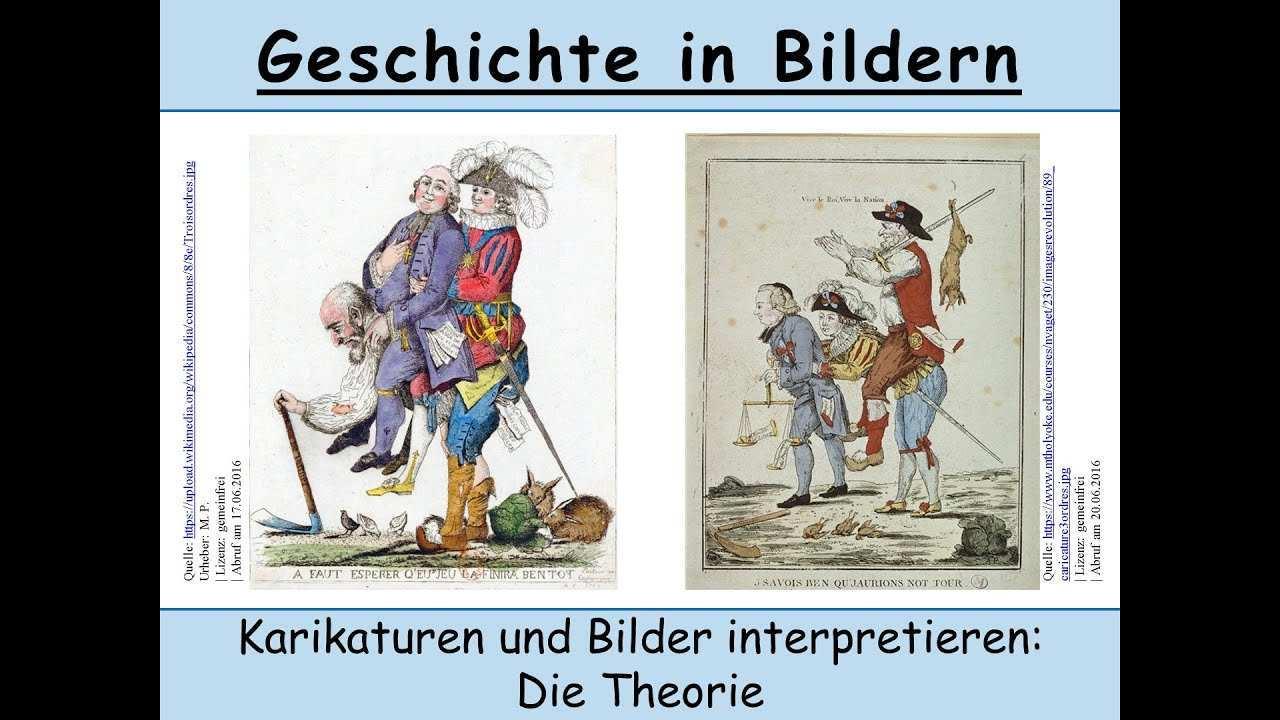 Karikaturen Bilder Analysieren Und Interpretieren Wie Geht Das Geschichte Bildinterpretation Youtube