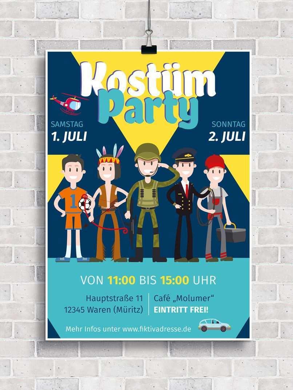 Plakate Und Flyer Einladung Zu Kinderfest Und Kinderfasching Kinderfest Fasching Faschingskostume Kinder