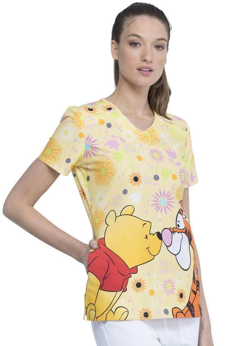 Damen Kasack Dickies 1 20 Top In Winny Pooh Disney Blaumann Co
