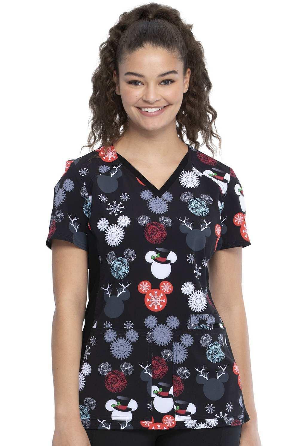 Damen Kasack Dickies Cherokee Mickey Minnie Disney Blaumann Co