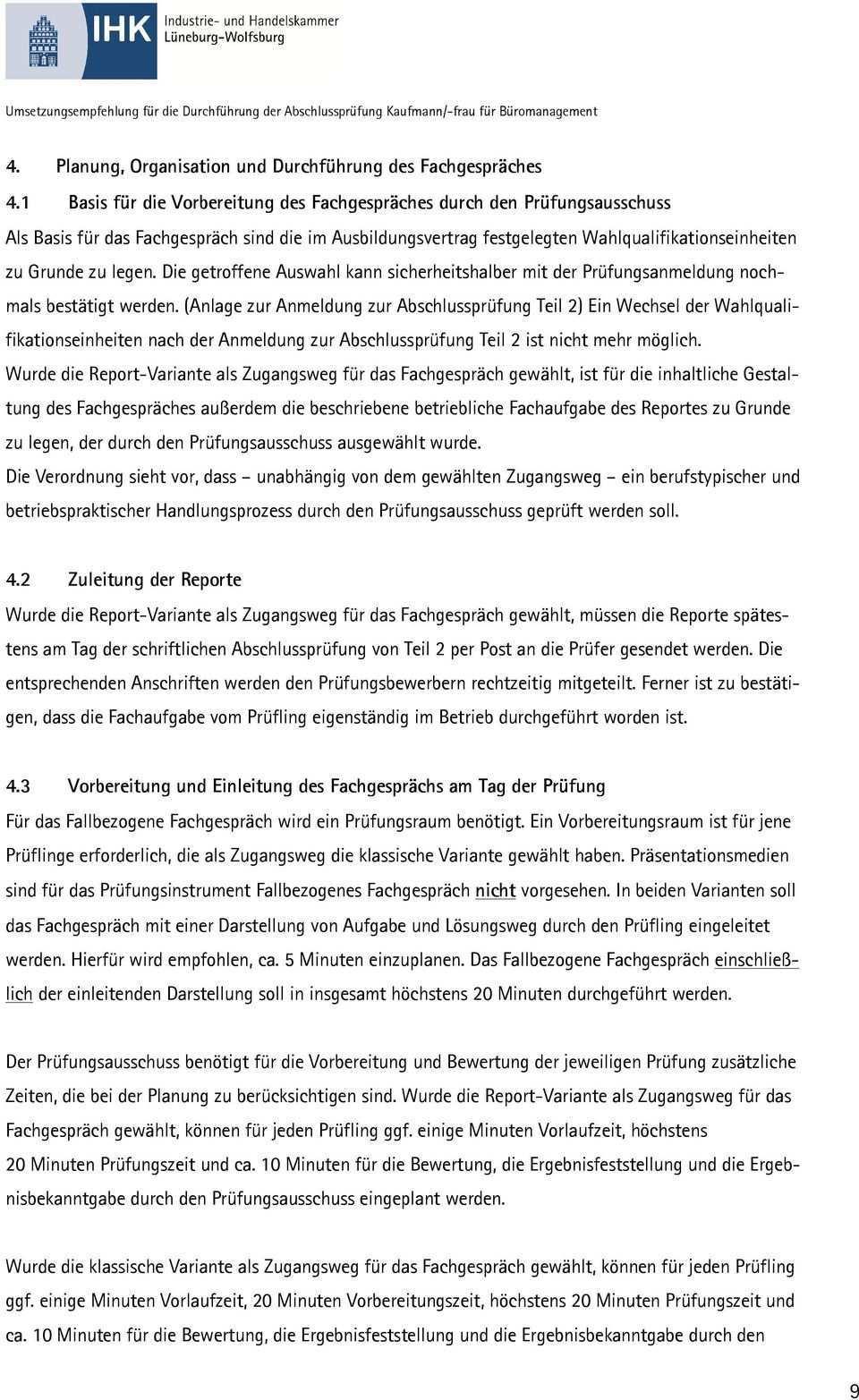 Informationsmaterial Fur Ausbilder Und Prufer Im Ausbildungsberuf Kaufmann Kauffrau Fur Buromanagement Pdf Free Download