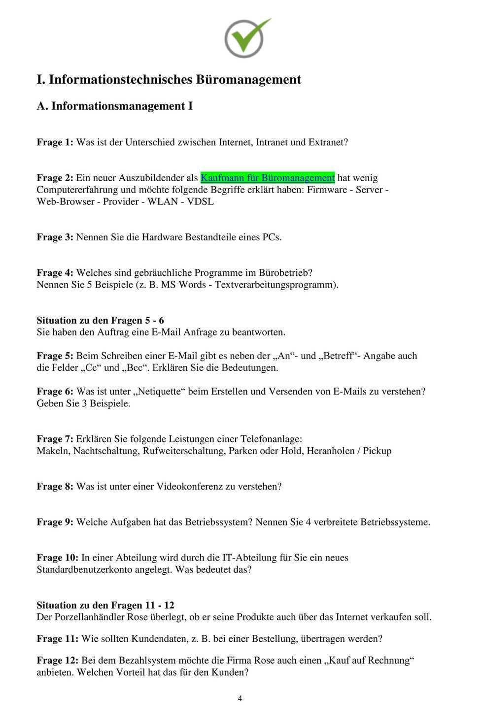 My Publications Kauffrau Kaufmann Fur Buromanagement Page 1 Created With Publitas Com