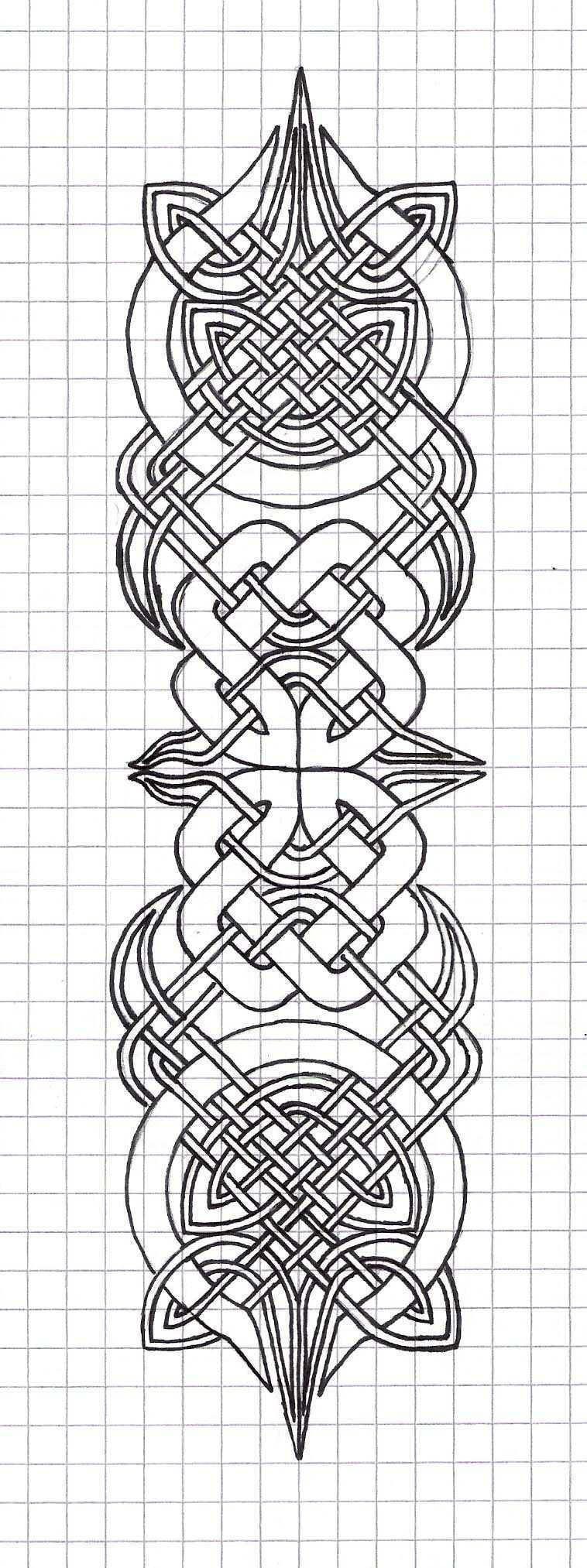 Kind Of Complicated But Very Cool Keltische Designs Keltische Muster Und Keltische Knoten