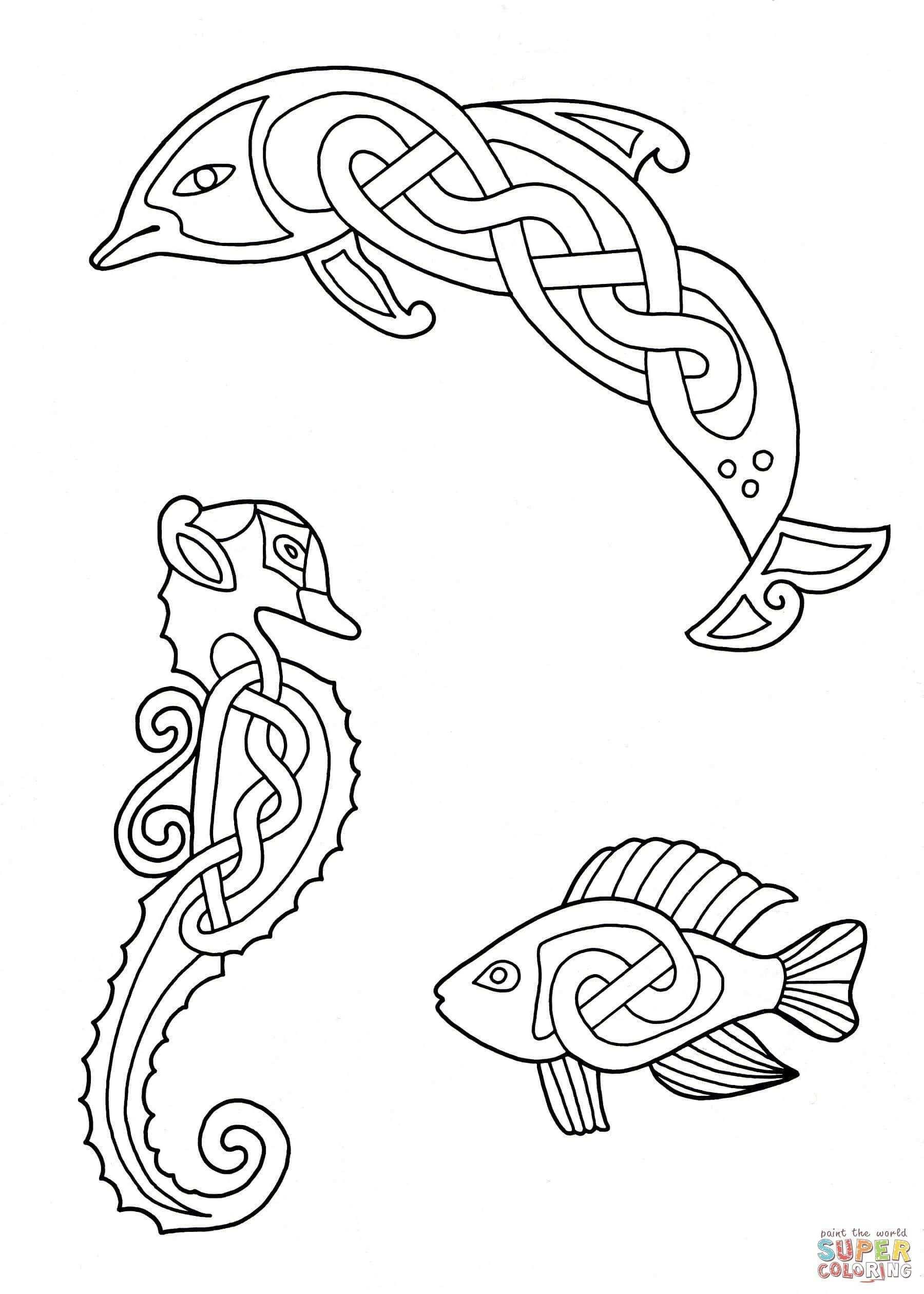 Ausmalbild Tierdarstellungen Mit Keltischen Mustern 3 Kategorien Keltische Kunst Kostenlose Ausmalbilder In Celtic Quilt Keltischer Knoten Designs Keltisch