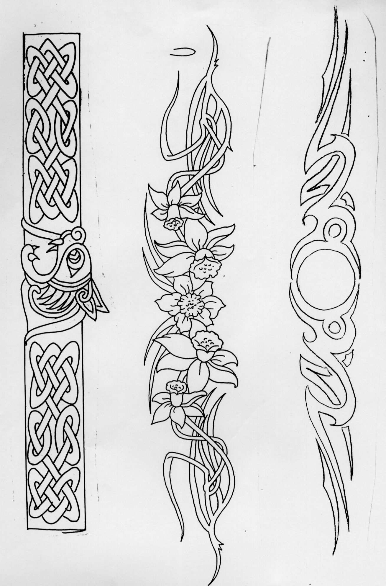 Arm Band Tattoos 56arm24 Jpg Follow Link To Print Full Size Image Http Tattoo Advisor Com Tattoo Images Celtic Patterns Leather Tooling Patterns Celtic Art