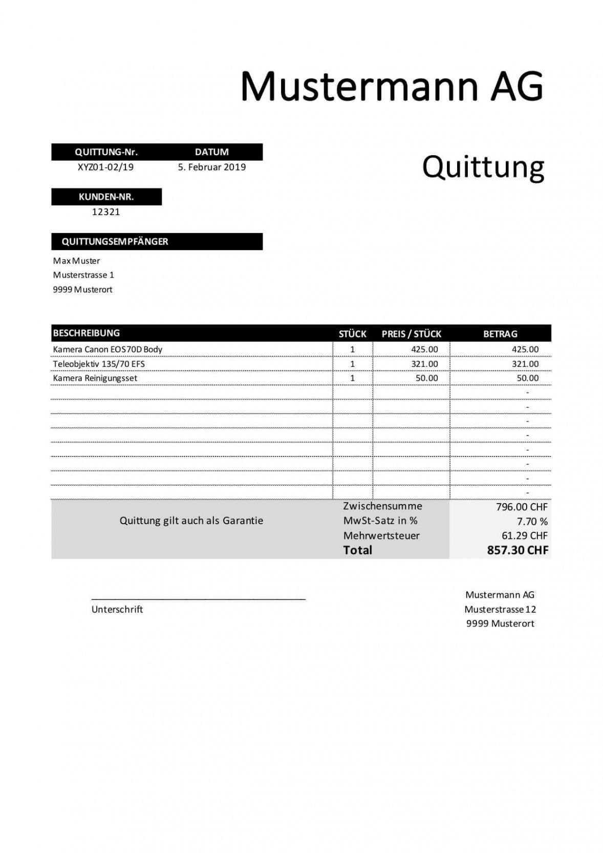 Blattern Unsere Druckbar Von Rechnung Quittung Vorlage In 2020 Rechnung Vorlage Quittung Rechnungsvorlage