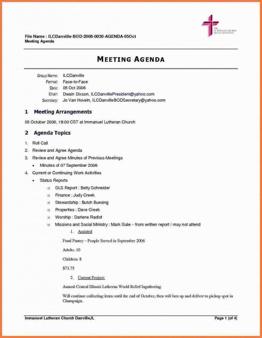 Meeting Agenda Planner Template Work Agenda Templates Agenda Template Meeting Agenda Template Meeting Agenda