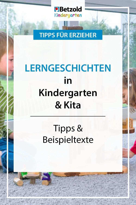 Lerngeschichten Tipps Beispiele Fur Kigas In 2020 Aktivitaten Im Kindergarten Ausbildung Erzieherin Lernen