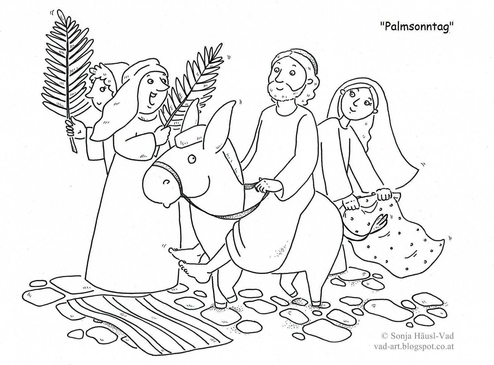 Pin Von Tanja Hofmann Auf Ostern Kindergottesdienst Fastenzeit Palmsonntag