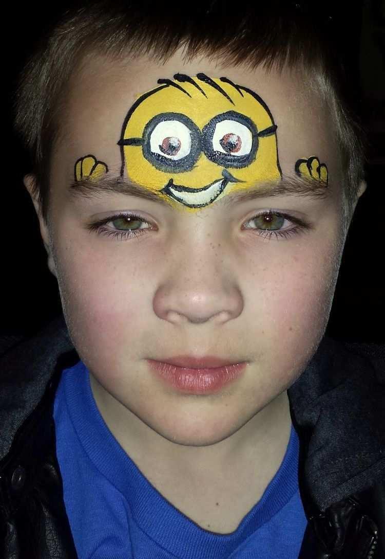 Face Painting Motifs For Boys 50 Inspiring Ideas New Best Face Painting Motifs For Boys 50 Inspir In 2020 Kinder Schminken Kinderschminken Kinderschminken Jungs