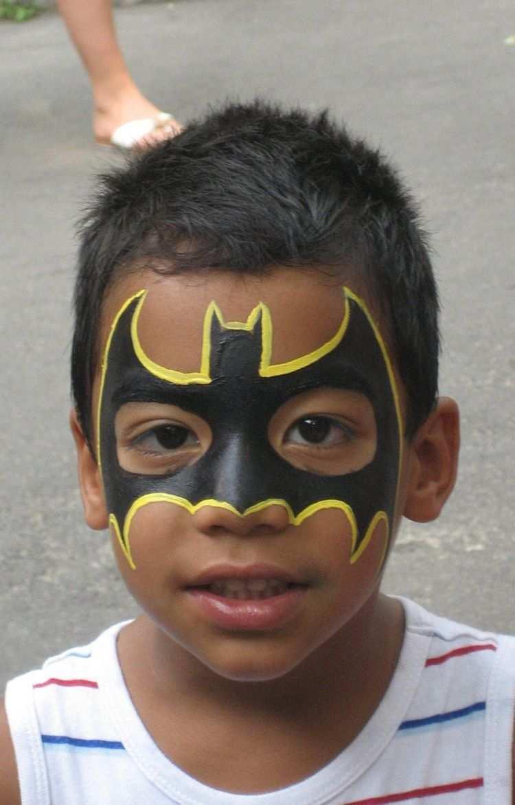 Kinderschminken Jungen Motive Batman Makeup Fasching Kinderschminken Motive Kinderschminken Kinder Schminken