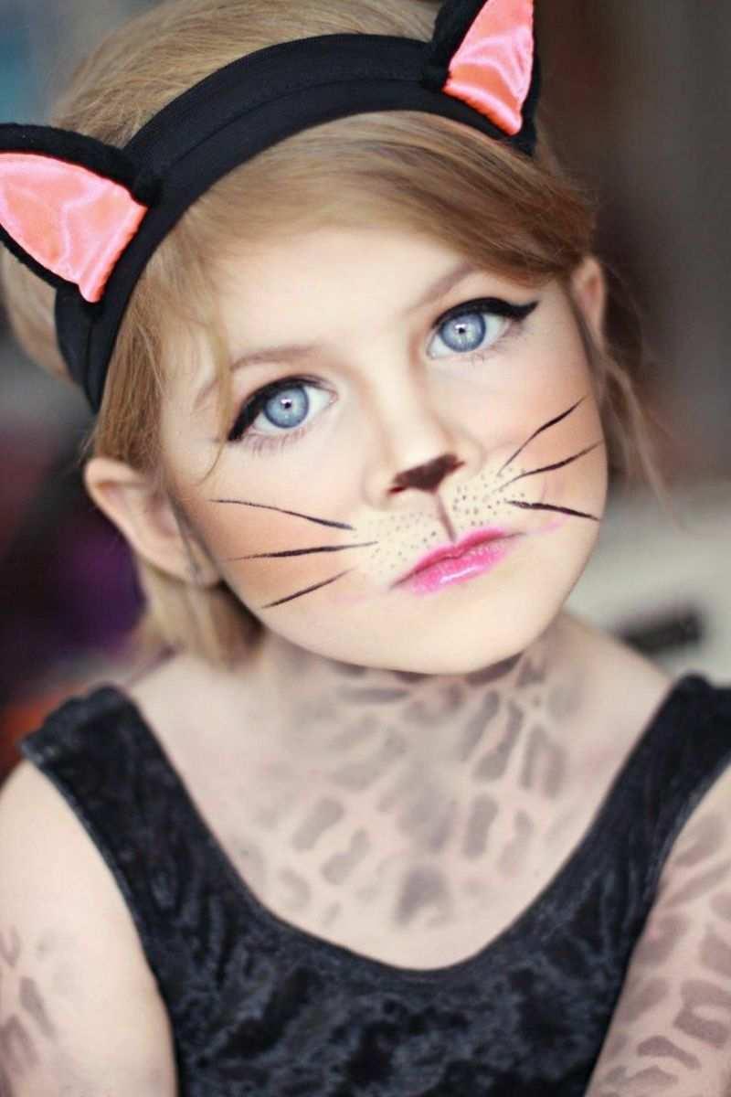 Halloween Schminken Kinder Originelle Ideen Zum Nachmachen Fasching Schminken Katze Schminken Kinder Schminken
