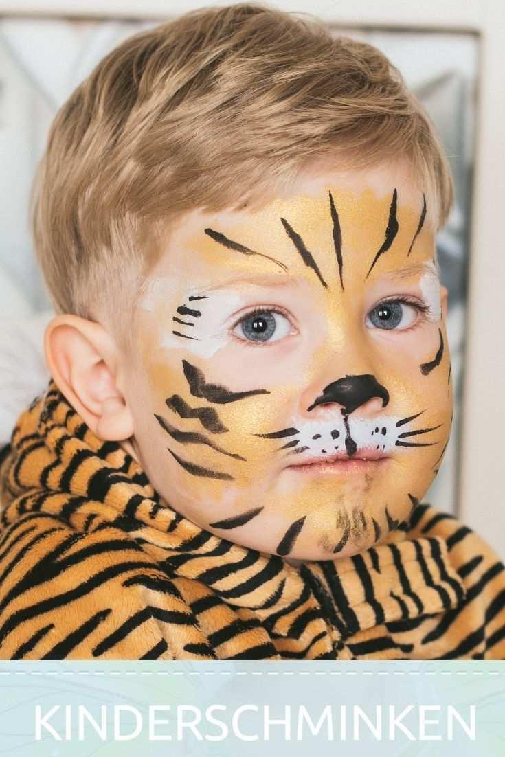Tiere Schminken Kinderschminken Tiger Kinderschminken Kinder Schminken Kinder Schminken Tiger