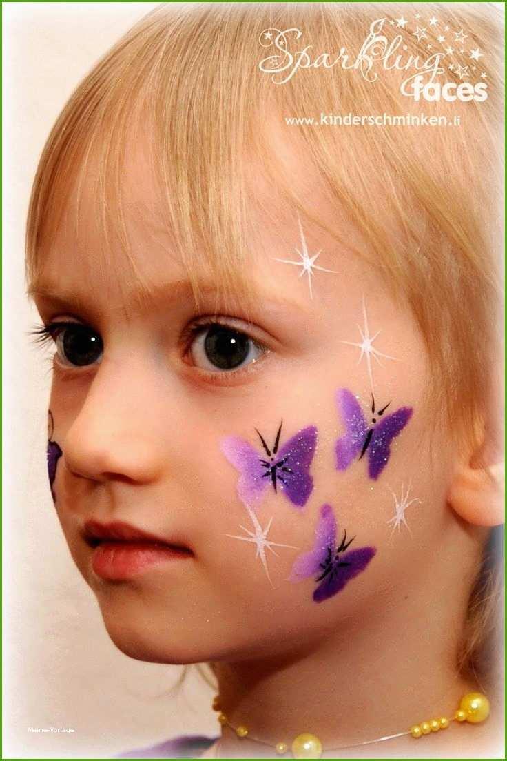 Kinderschminken Vorlagen Zum Ausdrucken Bewundernswerte Die Besten Face Painting Halloween Butterfly Face Paint Girl Face Painting