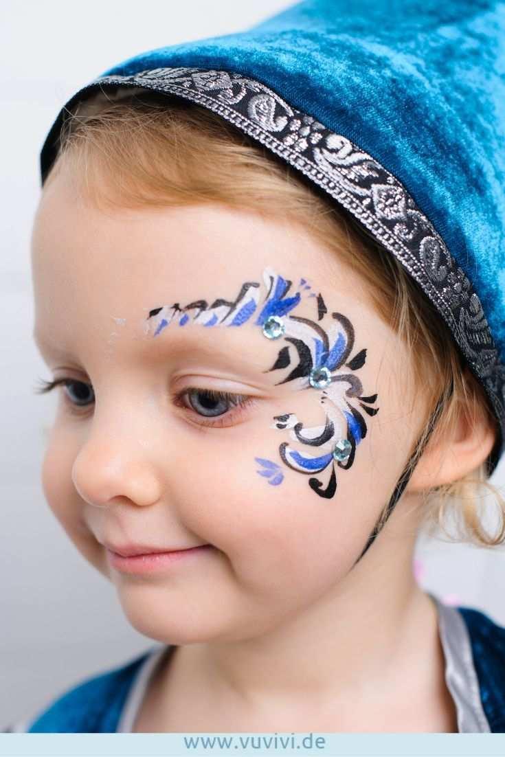 Diese Kinderschminken Idee Ist Genau Richtig Fur Kleine Burgfraulein Und Prinzessinnen Kinderschminken Burgfest Kinder Schminken Kinderschminken Kinderfest