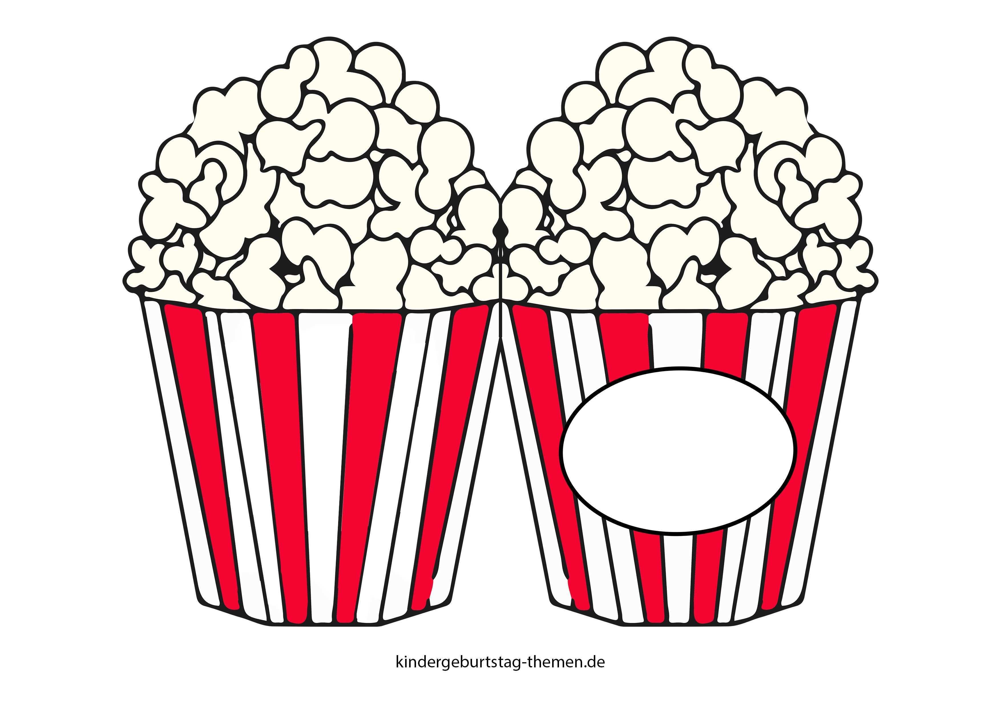 Kino Einladung Druckvorlage Fur Popcorn Karte Und Filmklappe Einladungskarten Kindergeburtstag Einladung Basteln Gutschein Basteln Kinder