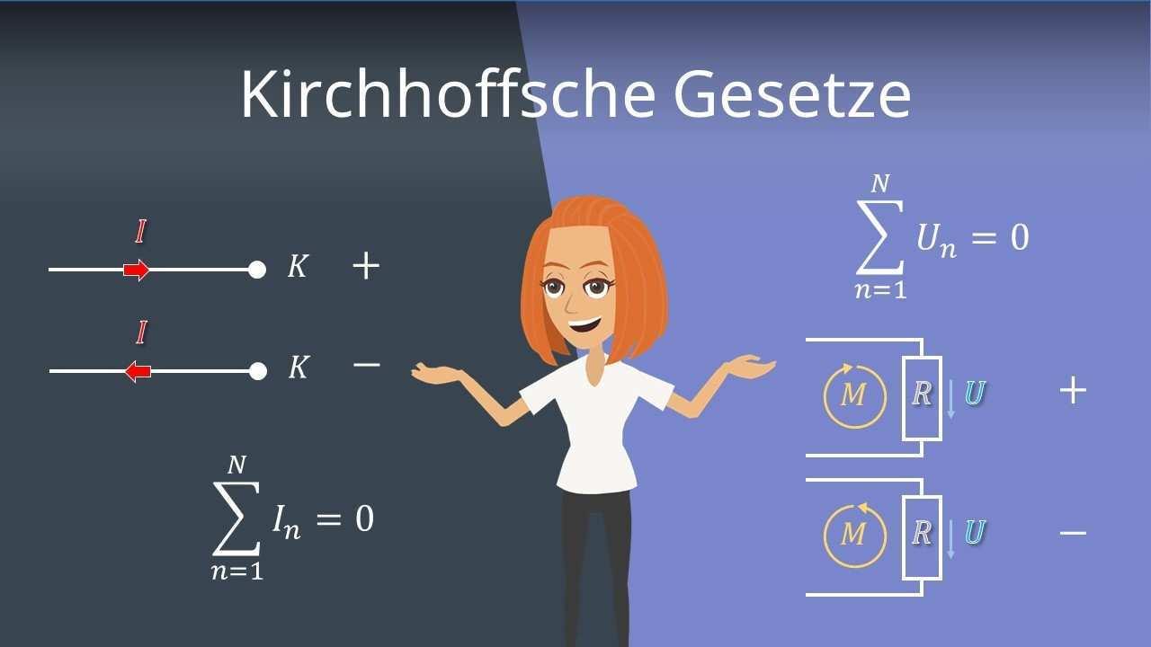 Kirchhoffsche Regeln Knotenregel Maschenregel Mit Beispiel Mit Video