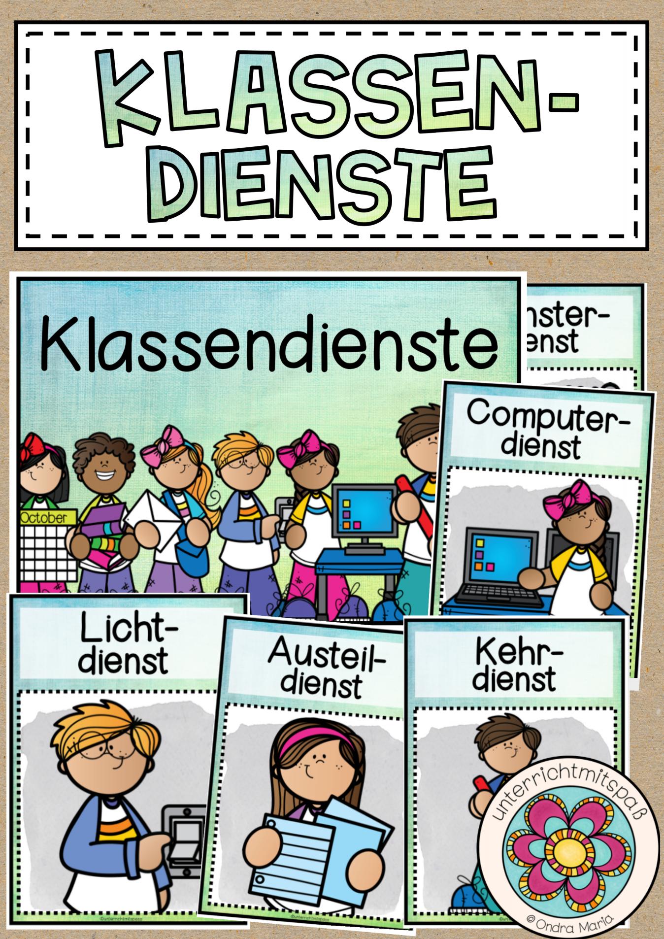 Klassendienste Vorlagen Fur Klassenregeln Grundschule Klassenraum Gestalten Einrichten In 2020 Klassenregeln Grundschule Klassenraum Erste Klasse