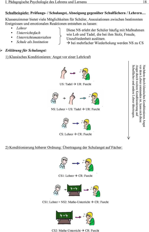 Zusammenfassung Bereich I Padagogische Psychologie Des Lehrens Und Lernens Pdf Kostenfreier Download